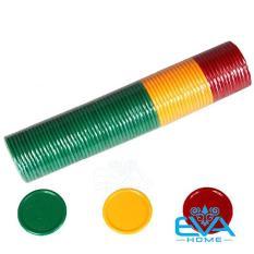 Bộ Đồ Chơi 68 Đồng Xu Nhựa Chip Poker Trơn