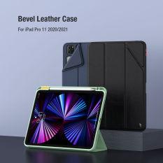 Bao da Nillkin Bevel Series cho iPad Pro M1 2021 (11 inch) có khay để bút thế hệ mới ( màu đen)