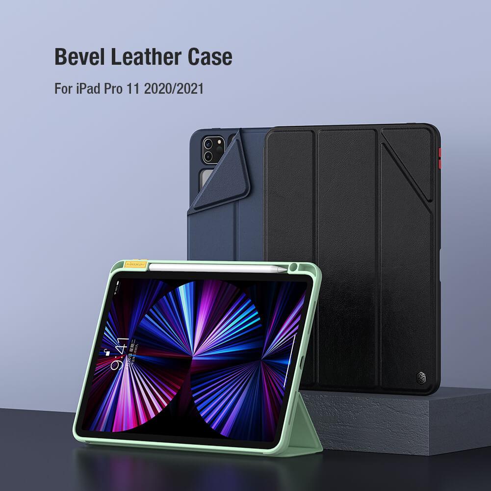 Bao da Nillkin Bevel Series cho iPad Pro M1 2021 (11 inch) có khay để bút thế hệ mới (...