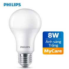 Bóng đèn Philips LED MyCare 8W 6500K E27 A60 – Ánh sáng trắng