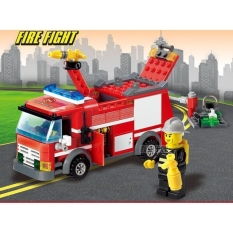 Bộ Lego Xếp Hình KAZI FIRE FIGHT 206 Chi Tiết. Lego KAZI FIRE FIGHT Lắp Ráp Đồ Chơi Cho Bé.(mã 8054)