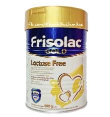 (HSD 2/2021) Sữa bột Friso Frisolac Lactose Free 400g (Dành cho bé bất dung nạp lactose – tiêu chảy)e 400g (Dành cho bé bất dung nạp lactose – tiêu chảy)