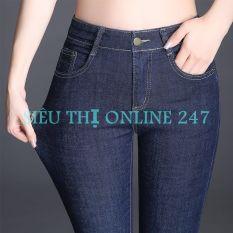 Quần Jean Nữ Thời Trang ST XANH BỐ (10) (Có Size Đại) – Hoặc Áo Thun Trắng