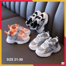 Giày Thể Thao Bé Trai Phong Cách Cá Mập Siêu Mềm Nhẹ Size 21-30