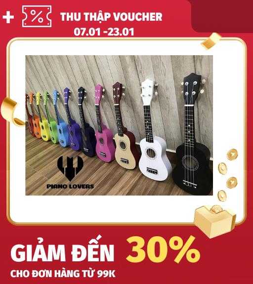 [Lấy mã giảm thêm 30%]Đàn Ukulele Gỗ US-1000 – Limited Edition làm bằng gỗ tấm cho âm thanh hay sáng dây đàn tốt bấm không bị đau tay ( được chọn màu )
