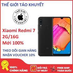Điện thoại Xiaomi Redmi 7 2G/16G – Mới 100% – 2 SIM – Màn hình 6.26 inches – Hàng công ty Digiworld – Bảo hành 12 tháng – Thế Giới Táo Khuyết
