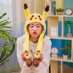 Mũ Tai Thỏ Giật – Mũ Tai Thỏ Điều Khiển Hàn Quốc Titok