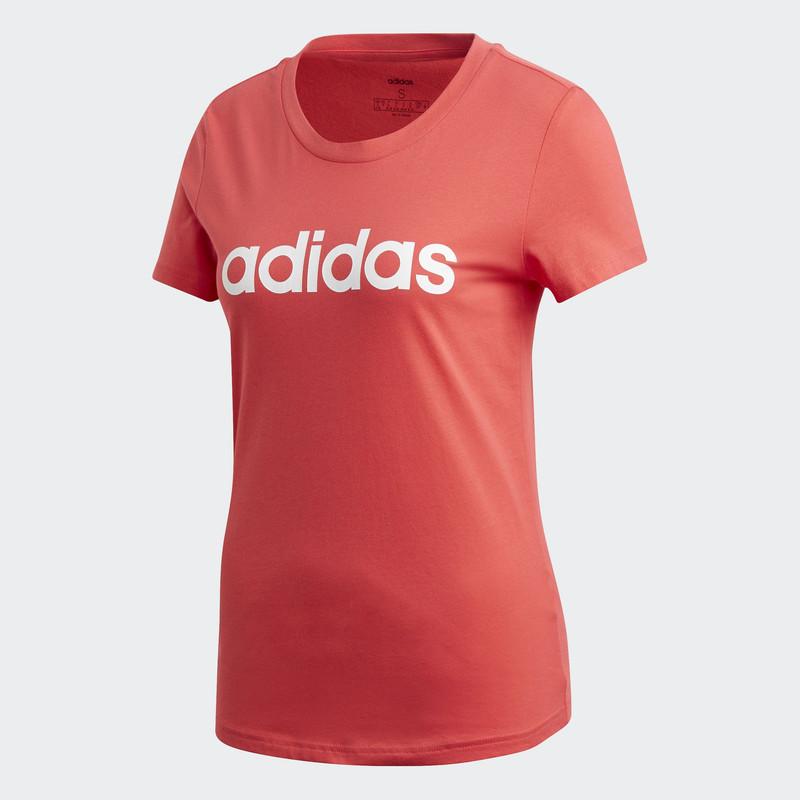 adidas NOT SPORTS SPECIFIC Áo phông Essentials Linear Nữ Màu hồng FM6427