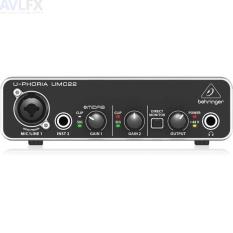 Sound card thu âm 48v Behringer Uphoria UMC22