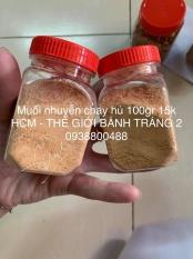 Muối chay nhuyễn Tây Ninh hủ 100gr