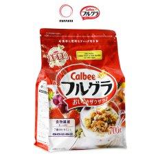 [HSD 16/11/2021] Ngũ cốc trái cây Frugra Calbee Nhật Bản 700g