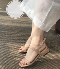 sandal cao gót dây mảnh 2p hàng siêu đẹp