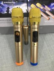 Bộ 2 micro không dây ZANSONG sóng UHF Wireless dành cho Amly , loa kéo loa karaoke bluetooth JBZ, SANSUI, ZANSONG, DAILE, ISKY, JBL,… – Micro không dây giá rẻ – Hỗ trợ các thiết bị có jack cắm 3.5mm và 6.5mm [Tặng 2 chống lắn mic+04 viên pin]