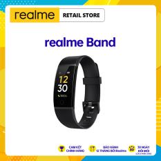 Vòng đeo tay thông minh Realme Band Màn hình 0.96 inches LCD TFT Đo nhịp tim Theo dõi giấc ngủ l 9 chế độ thể thao Chống nước IP68 l Pin lên đến 10 ngày l HÀNG CHÍNH HÃNG