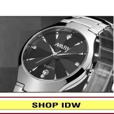 [Có video quay thật] Đồng hồ nam nữ dây thép không rỉ cao cấp Nary IDW 2561 (Nhiều màu lựa chọn)