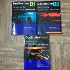 Sách – Trọn Bộ Giáo Trình Destination B1, B2, C1&2 ( 3 cuốn gia công in đen trắng)