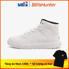 [Tặng áo thun 150k từ ngày 10/08/2021] Giày Thể Thao Nam Biti's Hunter Street Z Collection High White DSMH06200TRG (Trắng)