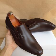 Giày Tây Nam Da Mềm, May Đế, Đế Cao 3,5cm Sang Trọng