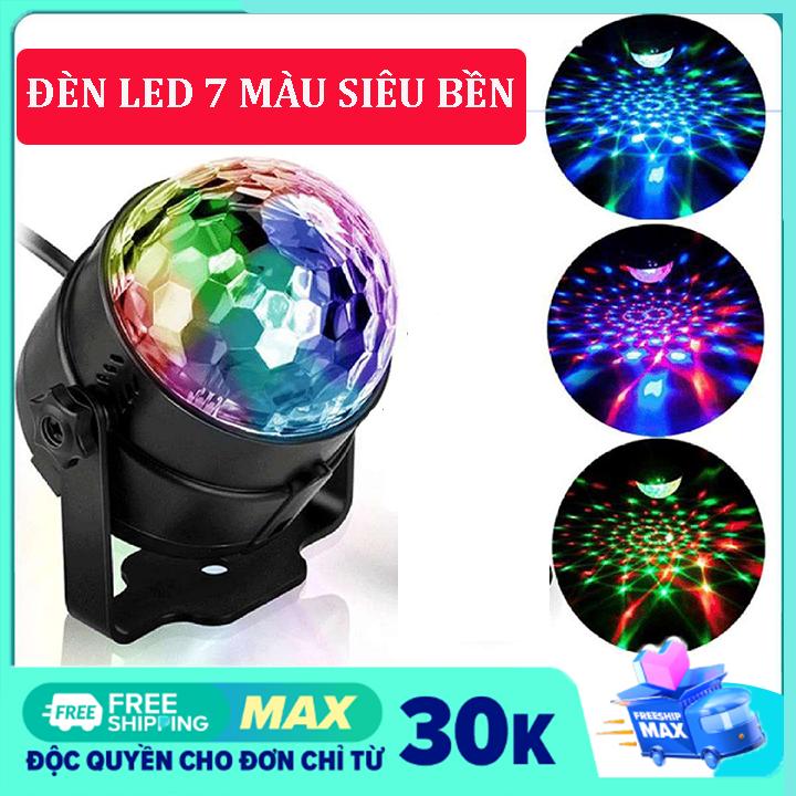 Đèn LED 7 màu vũ trường cảm ứng nhạc, bóng đèn LED trụ, đèn LED xoay 7 màu sân khấu chớp theo nhạc, Đèn nháy theo nhạc, đèn chớp 7 màu, đèn trang trí, đèn Led karaoke, đèn Led vũ trường,Đèn laser ánh sáng laze cảm biến âm thanh