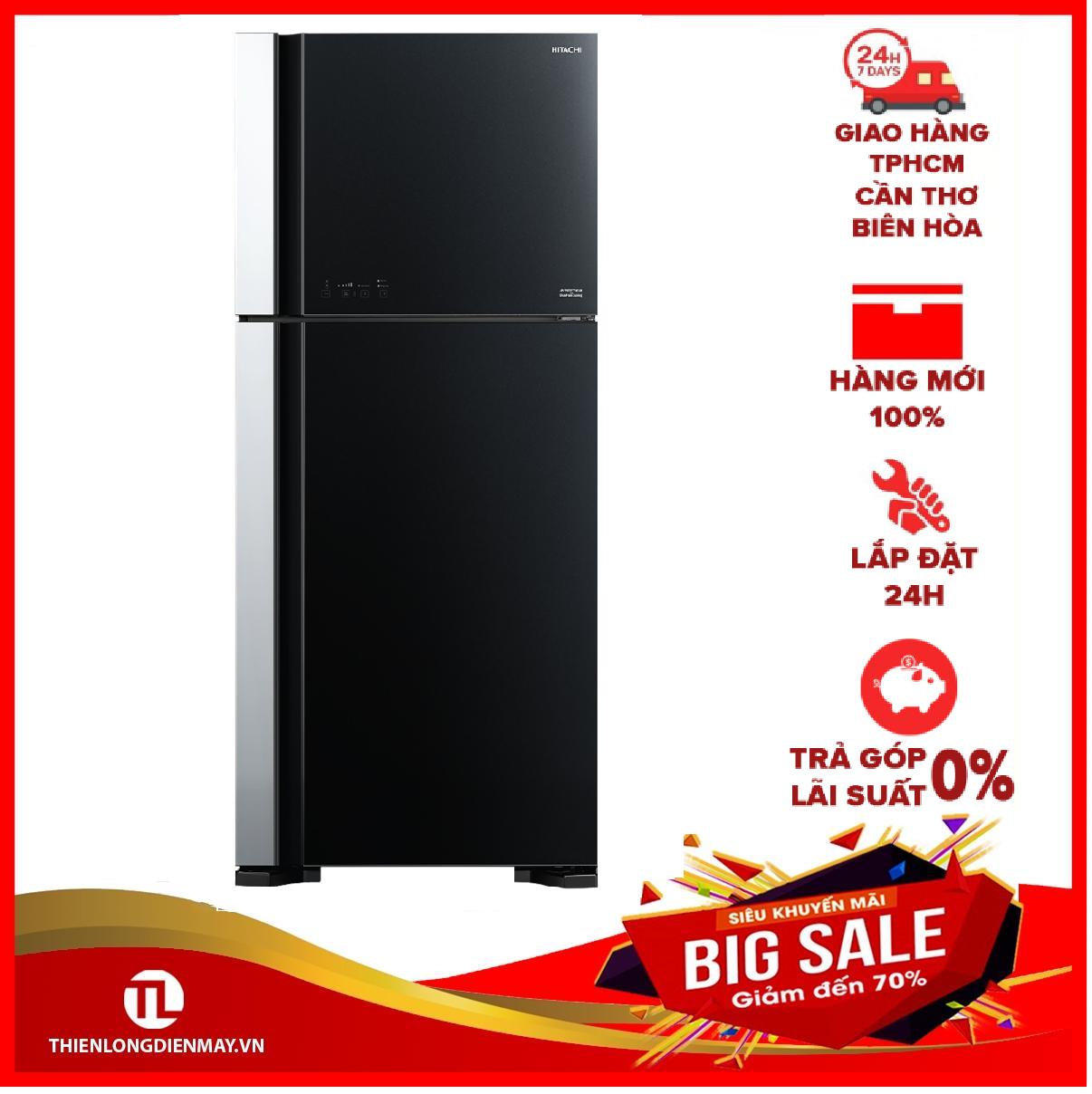 Tủ lạnh Hitachi 550 lít R-FG690PGV7X GBK