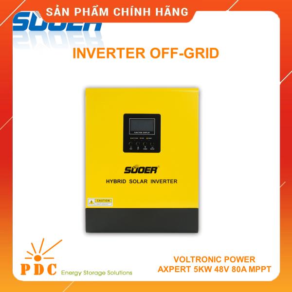 Bộ Inverter Off-grid SUOER 24V 220V 3KVA 2400W Sin Chuẩn – PS-3K-24