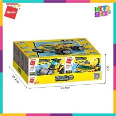 Đồ Chơi Xếp Hình Lego Cho Trẻ Qman 1806 – Xe Tải Hạng Nặng – Ảnh Thật 100% – Kitoshop