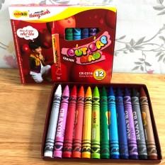 Bút sáp màu an toàn cho bé 12 màu