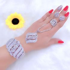 [ Bộ Trang Sức Nữ Dùng Đi Tiệc HOT 2019 – Bền Màu, Cam Kết Không Đen ] Thiết Kế Sang Trọng Phù Hợp Với Mọi Lứa Tuổi, Đặc Biết Giống Vàng 99% – Givishop – VB4260504, đồ trang sức bằng vàng đẹp, trang sức bạc đẹp giá rẻ, trang suc gia re