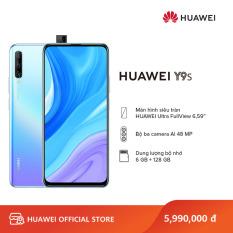 Điện thoại Huawei Y9s (6GB/128GB) – Chip Kirin 710F bộ xử lý tám lõi – Màn hình LCD tràn viền 6.59 inch Ultra FullView độ phân giải Full HD+ Camera selfie 16 MP bật lên tự động – Dung lượng pin cực lớn 4000 mAh – Hàng phân phối chính hãng