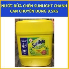 Nước rửa chén Sunlight Chanh Can chuyên dụng 9.5KG