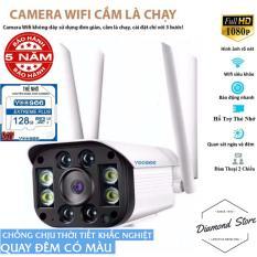[ Tặng Thẻ Nhớ 128Gb ] Camera IP Wifi Yoosee 4 Râu Camera Ngoài Trời Chống Nước Đàm Thoại 2 Chiều Xem Đêm Có Màu