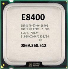 CPU E8400 kèm keo tản nhiệt