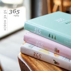 Sổ Tay Kế Hoạch 365 Ngày – Lên Kế Hoạch Tiện Dụng – 220 trang