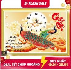Tranh đính đá đồng hồ Cha Mẹ VS063 KT:80X55cm. Shop cam kết bán hàng đúng mẫu mã sản phẩm đảm bảo chất lượng-uy tín lên hàng đầu.