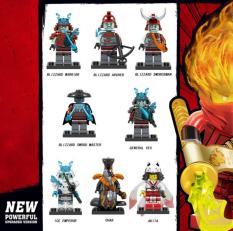 Đồ chơi lắp ráp NINJA PHANTOM Mini Figure nhân vật trong NINJAGO The ICE EMPEROR