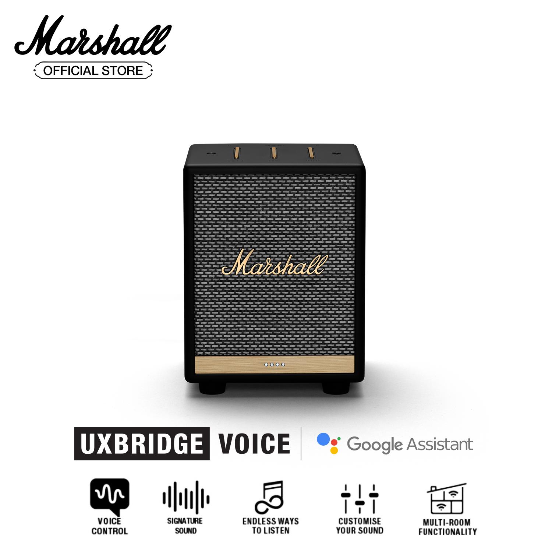 [Trả góp 0%][Hàng chính hãng] Loa Marshall Uxbridge kết hợp trợ lý ảo Google Assistant – Homeline – 1 năm bảo hành