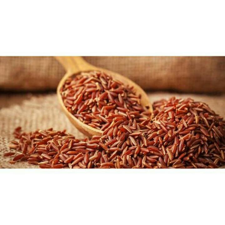 1 Kg Gạo Lứt Đỏ ( Huyết Rồng) - hạt dài đỏ giàu dinh dưỡng tốt cho sức khỏe