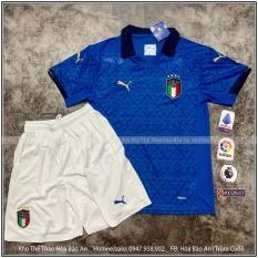 Bộ quần áo bóng đá ĐT Italia/Ý mới về màu xanh dương
