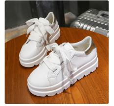 giày thể thao nữ 2 dây xinh đế cao siêu nhẹ độn đế tôn dáng BH26