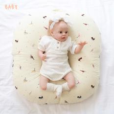 Vỏ gối chống trào ngược cho bé mẫu mới cao cấp Rototo bebe chất liệu Cotton cao cấp