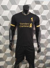Bộ quần áo bóng đá LIVERPOOL màu ĐEN đồ đá banh mới