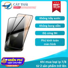 [Miếng dán màn hình] Kính cường lực Cát Thái dành cho Iphone 6/7/8/X/11 6Plus 7Plus 8Plus XS MAX Iphone 11 Pro Max – GH02