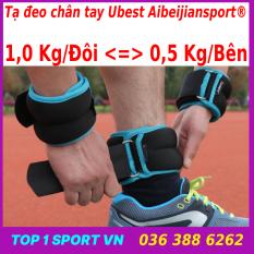 Tạ chân | tạ đeo chân | tạ đeo tay | tạ đeo chân tay 1kg/đôi Aibeijiansport® phiên bản 3.0 – Êm hơn, ưu việt hơn, gọn nhẹ hơn – Dành cho yoga, gym, bale, múa, bảo hành tạ 12 tháng