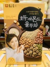 (Hộp 50 gói ) Bột Ngũ Cốc Hạnh Nhân Óc Chó Hàn Quốc date 2020