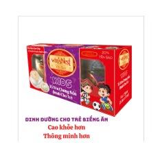 Yến sào cao cấp win'sNest kids 20% tổ yến chưng sẵn dành cho trẻ em (3Lọ/ Lốc) hương vị vani sản phẩm thích hợp cho trẻ em từ 1 tuổi trở lên.