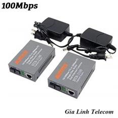 Bộ chuyển đổi quang điện Netlink 3100AB – 1 cặp – Converter quang 100Mbps