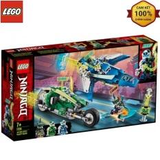 Mô Hình Lắp Ráp Lego Ninjago Xe Đua Tốc Độ Của Jay Và Lloyd 71709 (332 chi tiết)