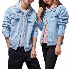 Áo khoác jean nữ – áo khoác jean nam – áo khoác jean unisex cặp đôi tinh tế CHI099 – Mua Ngay