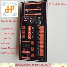 Mạch công suất loa kéo ALOKIO R3 cải tiến chuyên dụng cho bass đôi 30cm hoặc đơn 40cm kèm phụ kiện HP Electrical