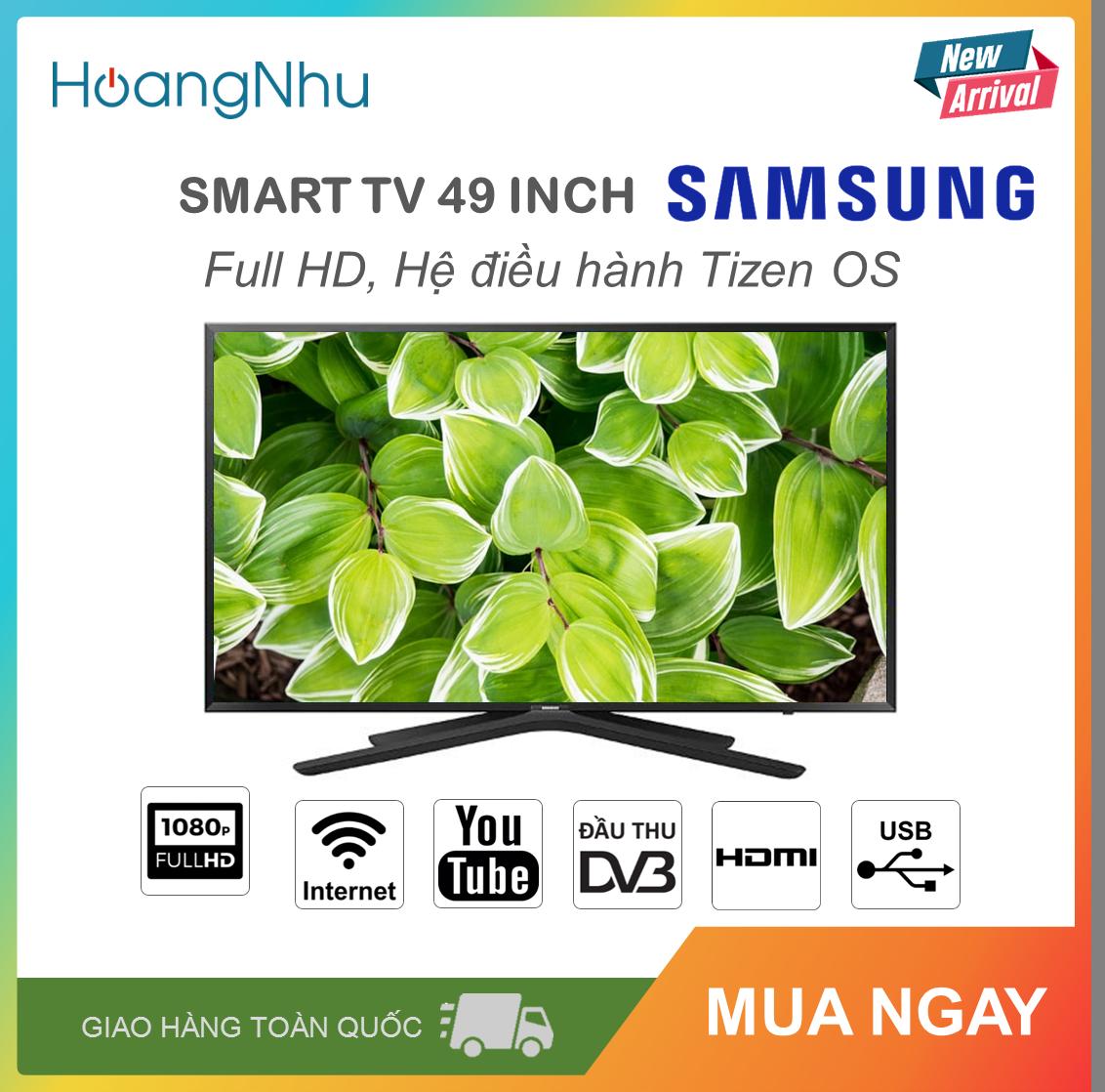 Smart Tivi Samsung 49 inch Kết nối Internet Wifi MODEL 49N5500AK (Full HD, Hệ điều hành Tizen OS, Truyền hình KTS, màu đen)